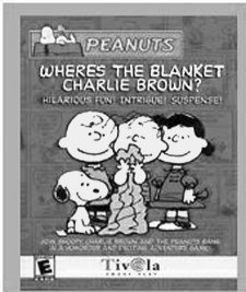 Where's the Blanket Charlie Brown? box